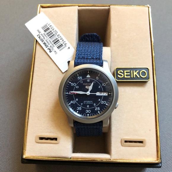 8faba853c440 SEIKO men s SNK807 Seiko 5 automatic watch